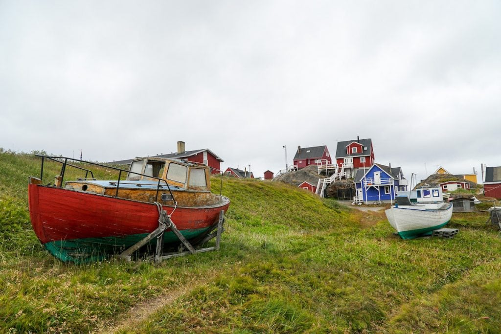 Greenland people of Sisimiut