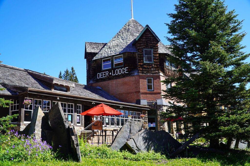Deer Lodge Lake Louise
