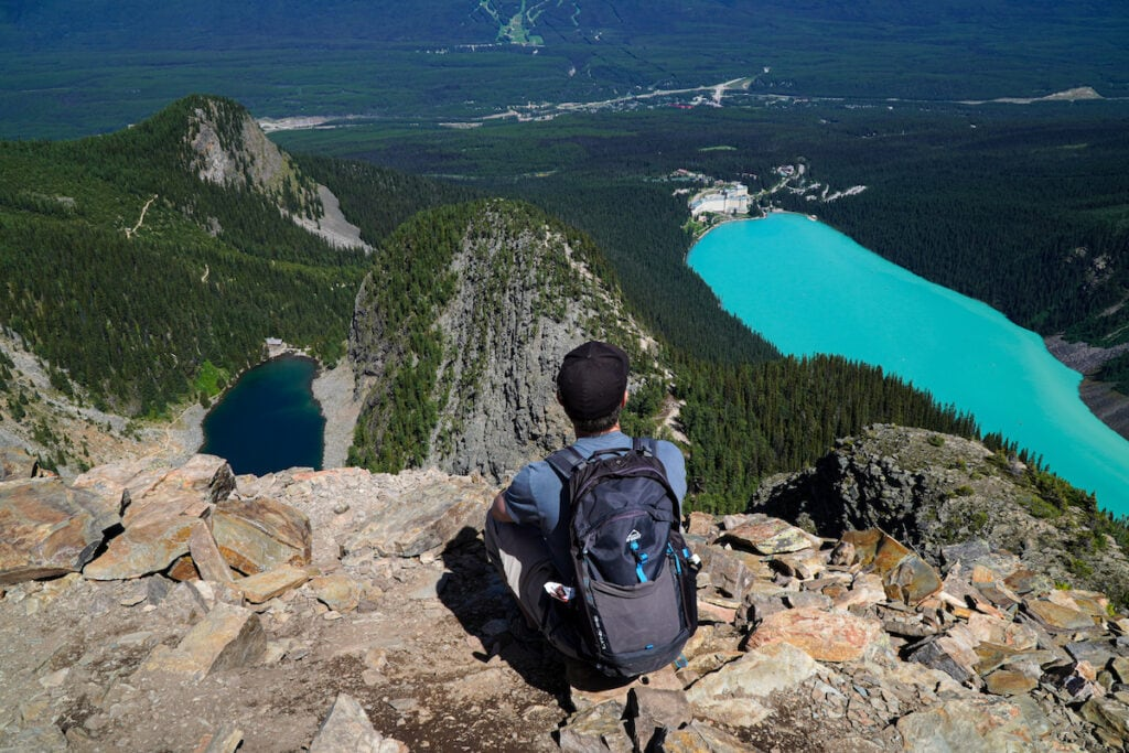 Devil's Thumbs Lake Louise Alberta