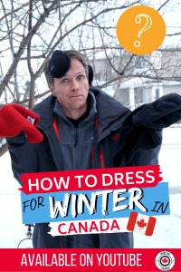 What to wear for winter in Canada?