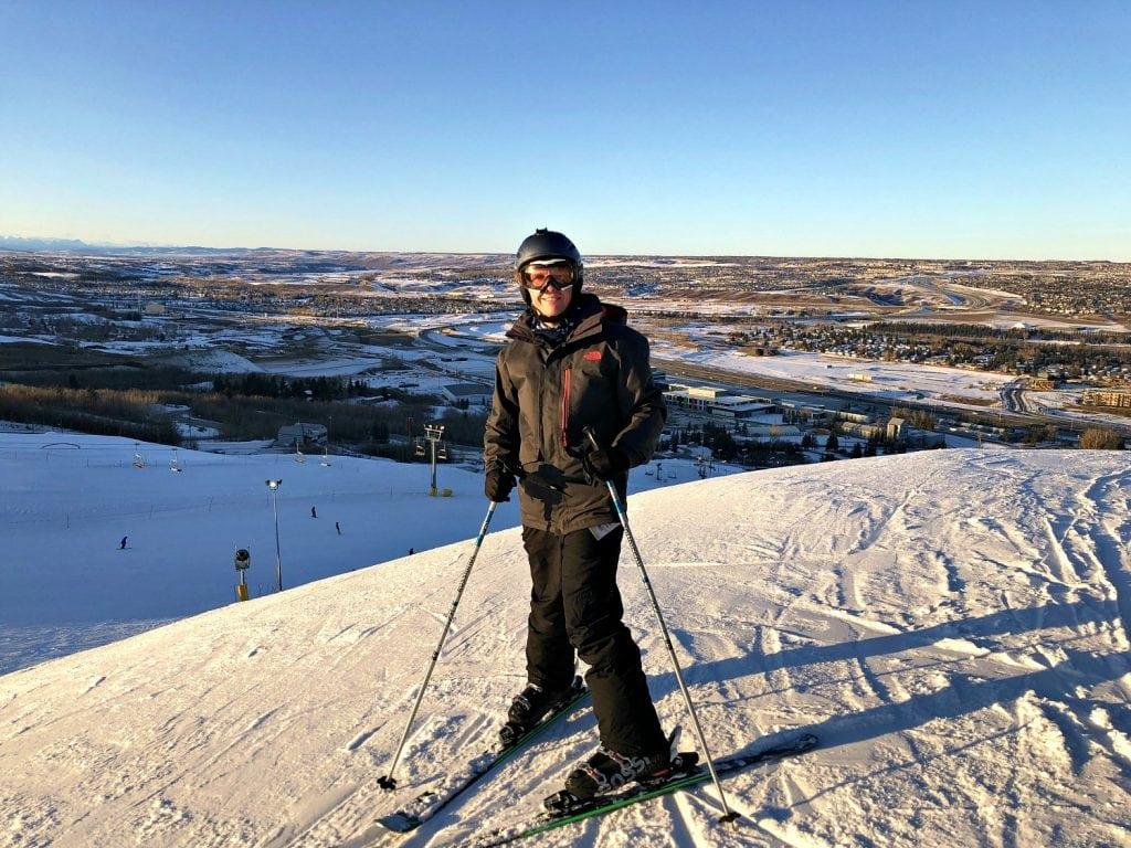 Skiing in Calgary
