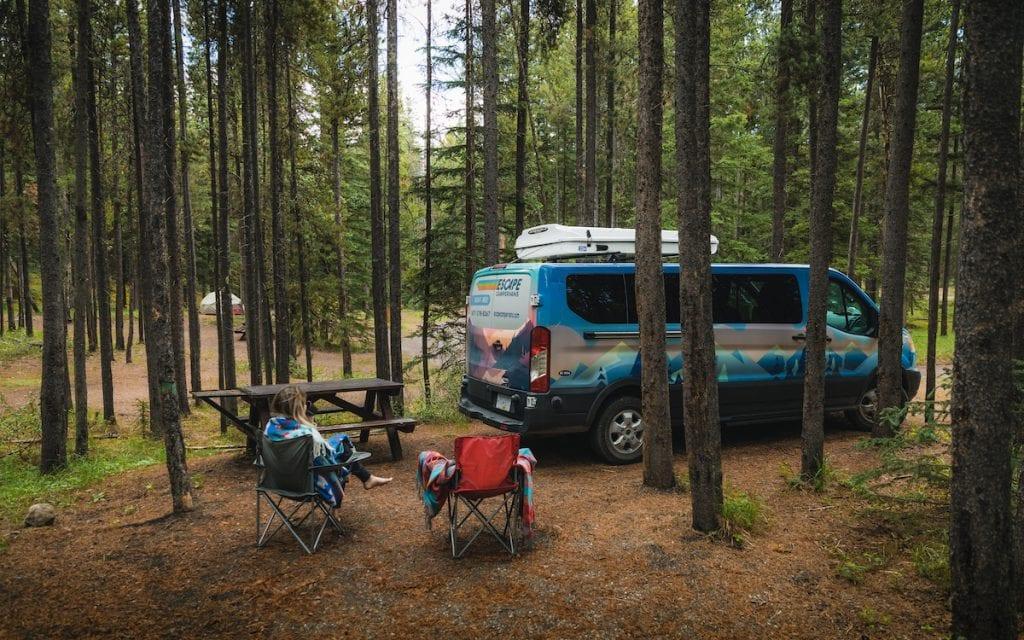 escape campervans deal