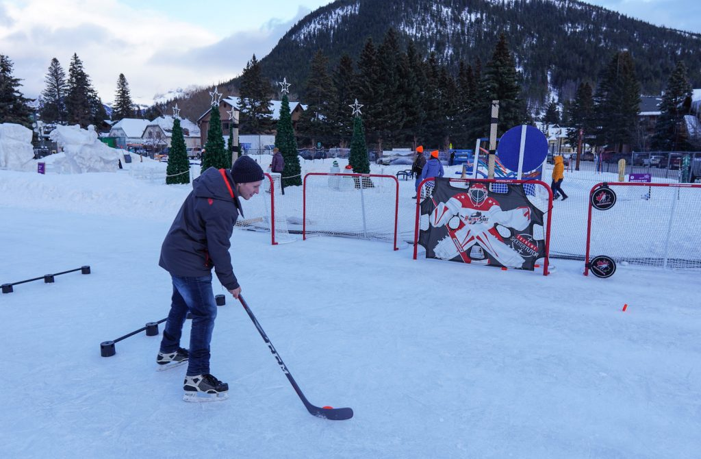 Banff Snow Days Hockey