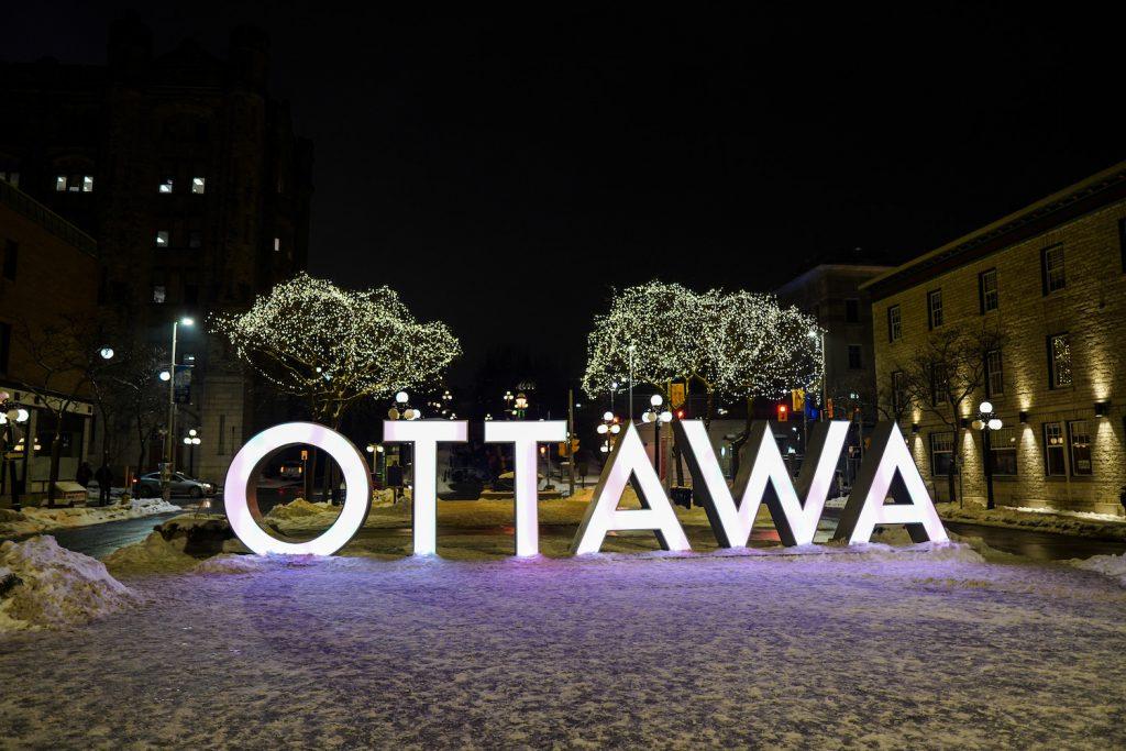 ottawa in the winter
