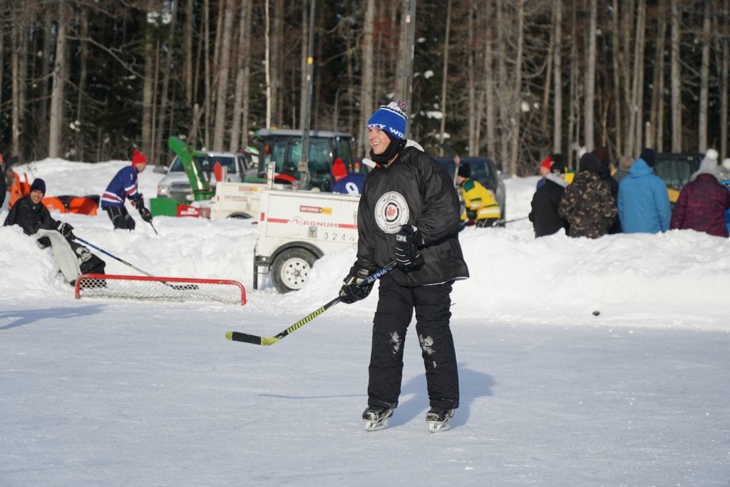 best pond hockey canada