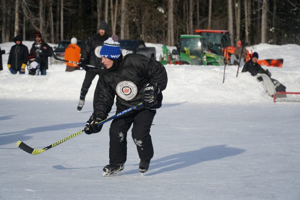 Matthew Bailey World Pond Hockey Championship