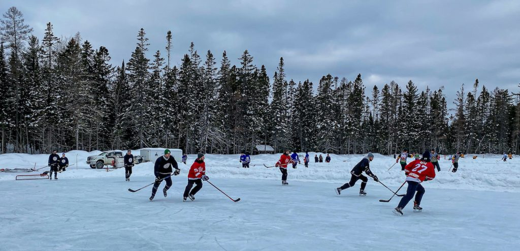 world's largest pond hockey tournament
