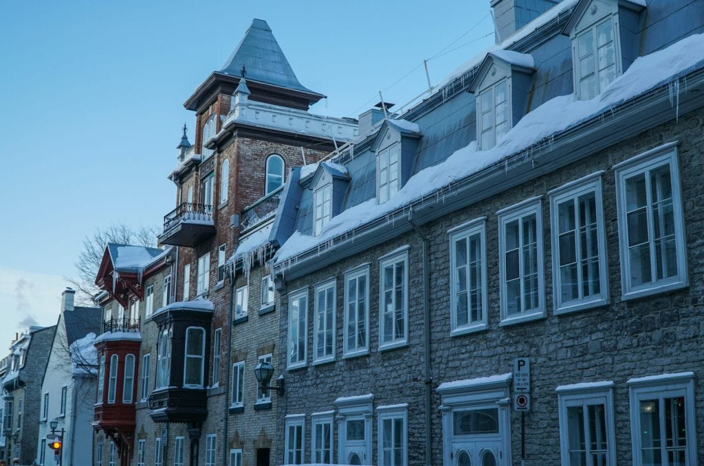 winter in quebec city