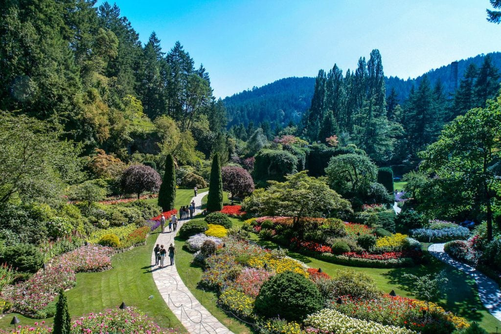 Butchart gardens things to do in victoria