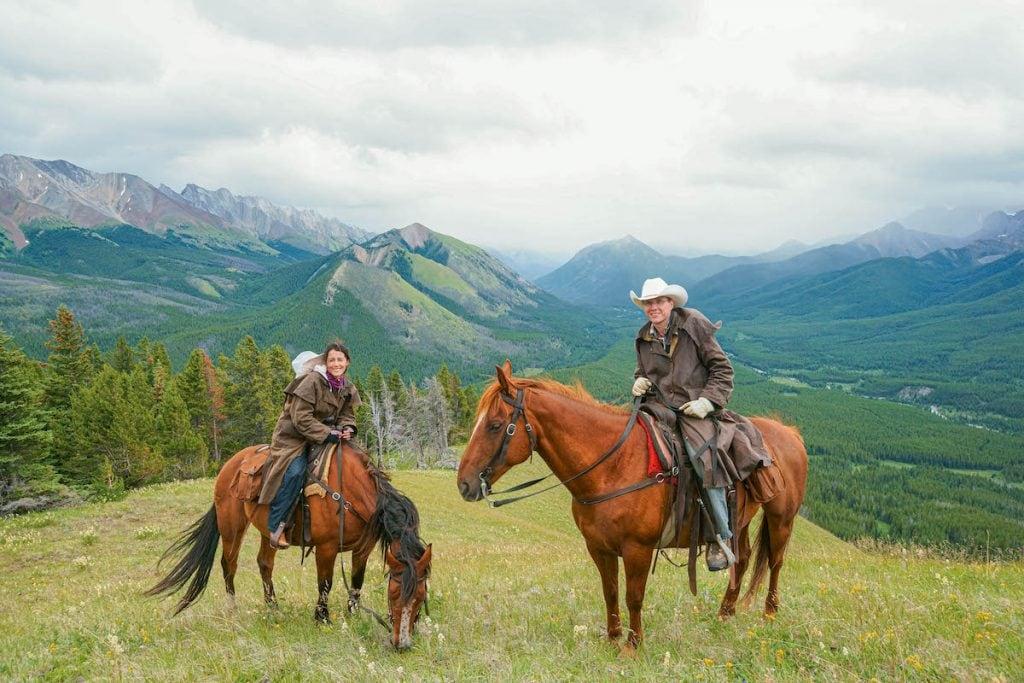 Horseback Riding in the Canadian Rockies