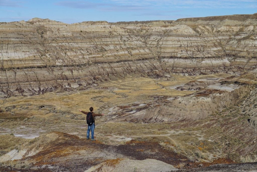 things to do in drumheller - horsethief canyon