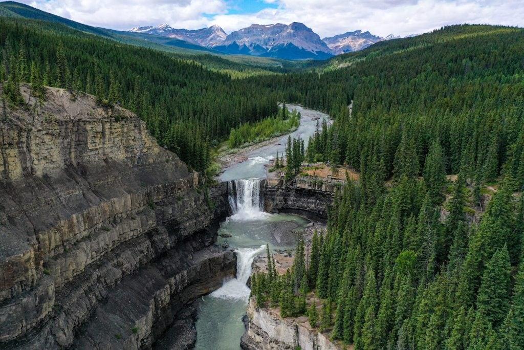 Crescent Falls Alberta, David Thompson Country.