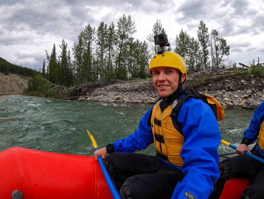 Rafting the Red Deer River with Mukwah Rafting