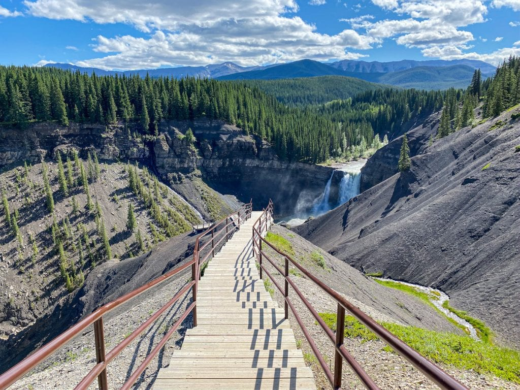 Ram Falls Provincial Park Alberta Road Trip