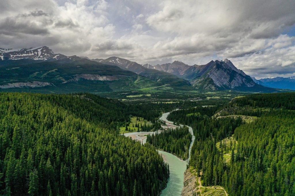 Siffleur Falls Alberta Canada