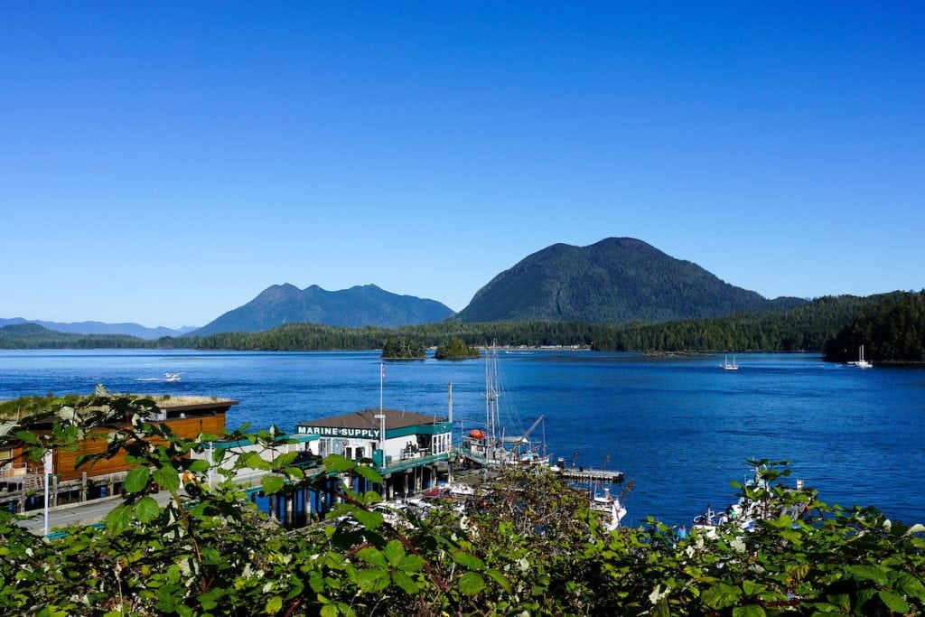 Tofino Harbour, British Columbia, Canada