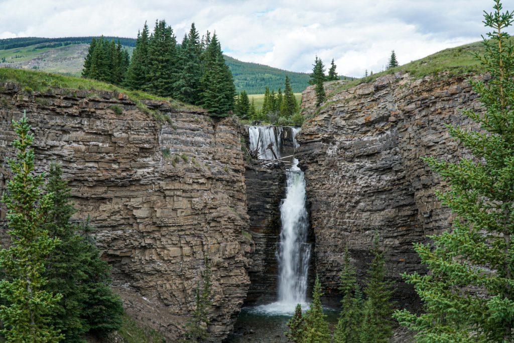 Bighorn Falls, Ya Ha Tinda Ranch, Alberta