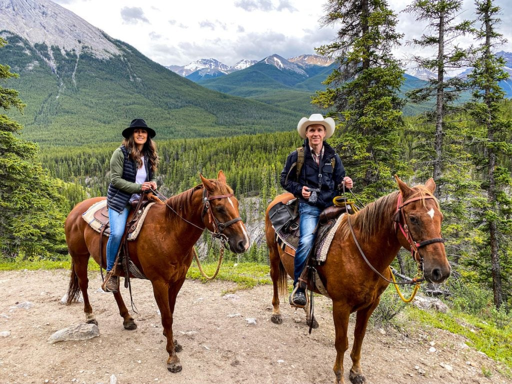 Mckenzie's Trails West Horseback Riding Alberta