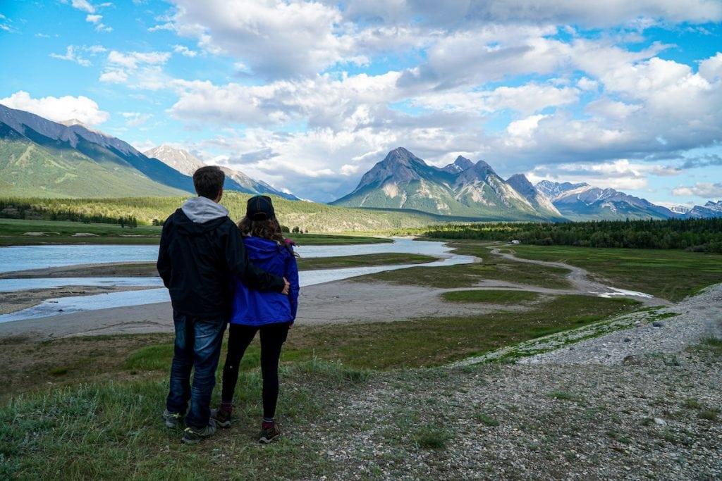 Abraham Lake Nordegg Camping Alberta