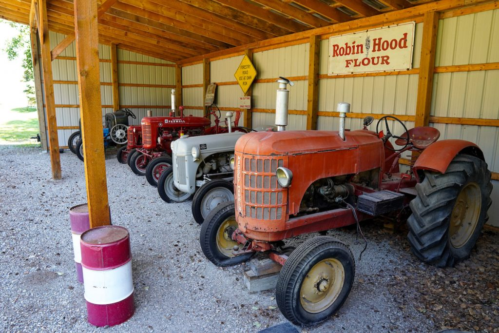 Old Tractors at the Sundre and District Museum