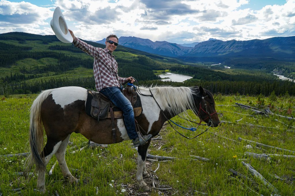 Sundre horseback riding