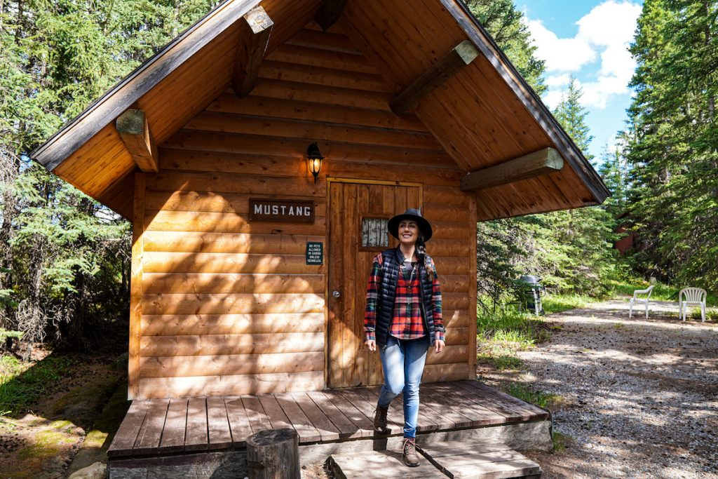 Backcountry accommodation bighorn alberta