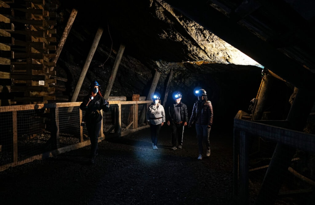 Bellevue Underground Mine Tour