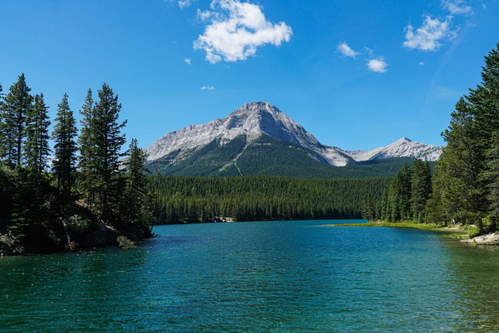Chinook Lake Crowsnest Pass Alberta