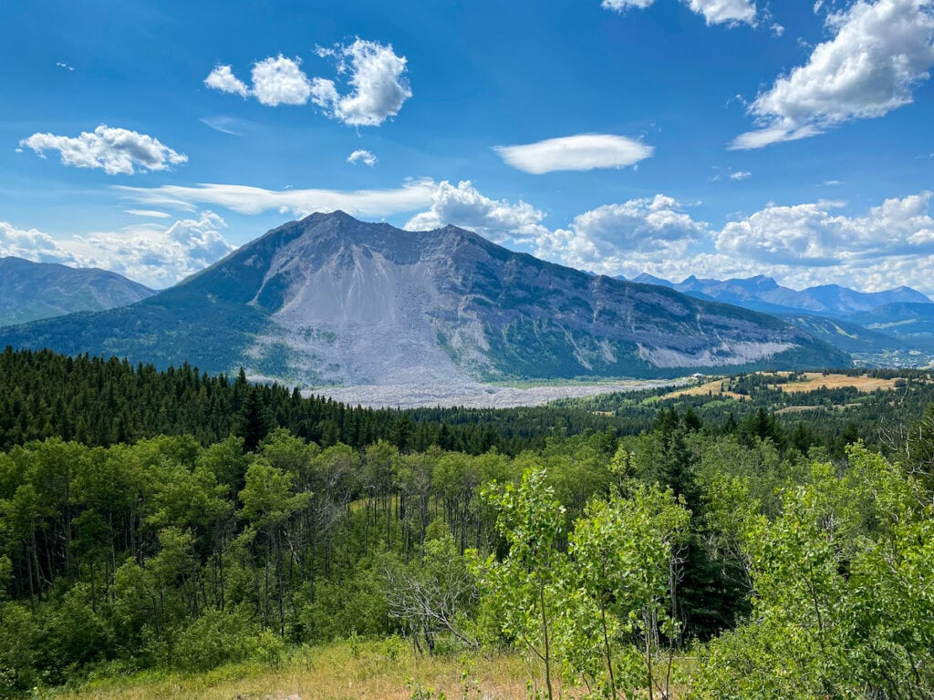 Frank Slide Disaster Crowsnest Pass Alberta