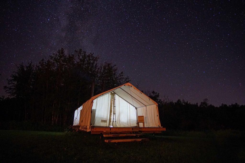 Lac La Biche Camping on Elinor Lake