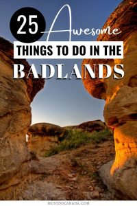 25 Awesome Things to Do in the Alberta Badlands