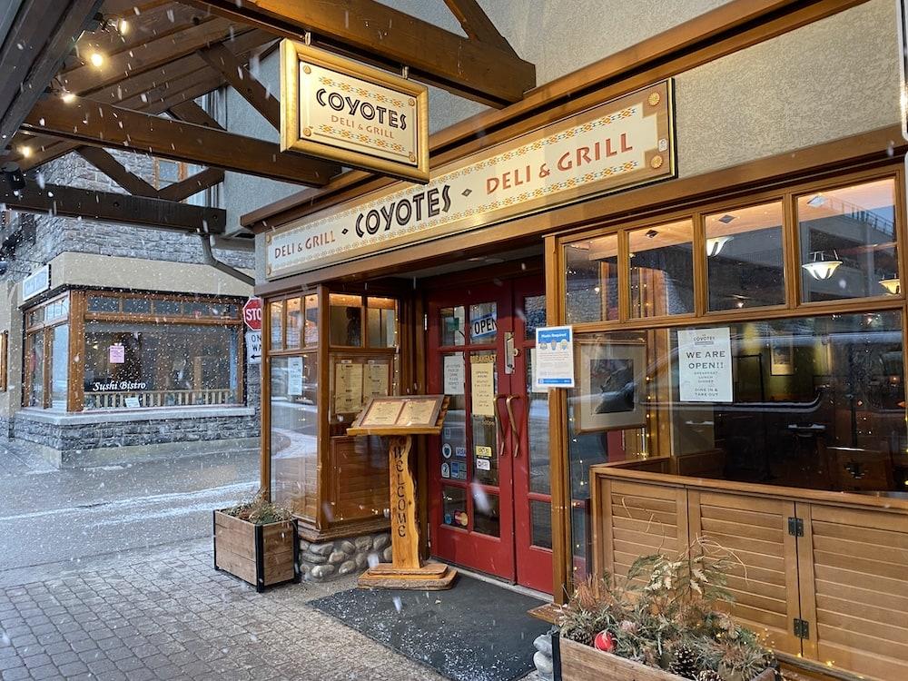 Coyotes Southwestern Grill in Banff Alberta Canada