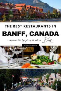 Banff Restaurants pinterest