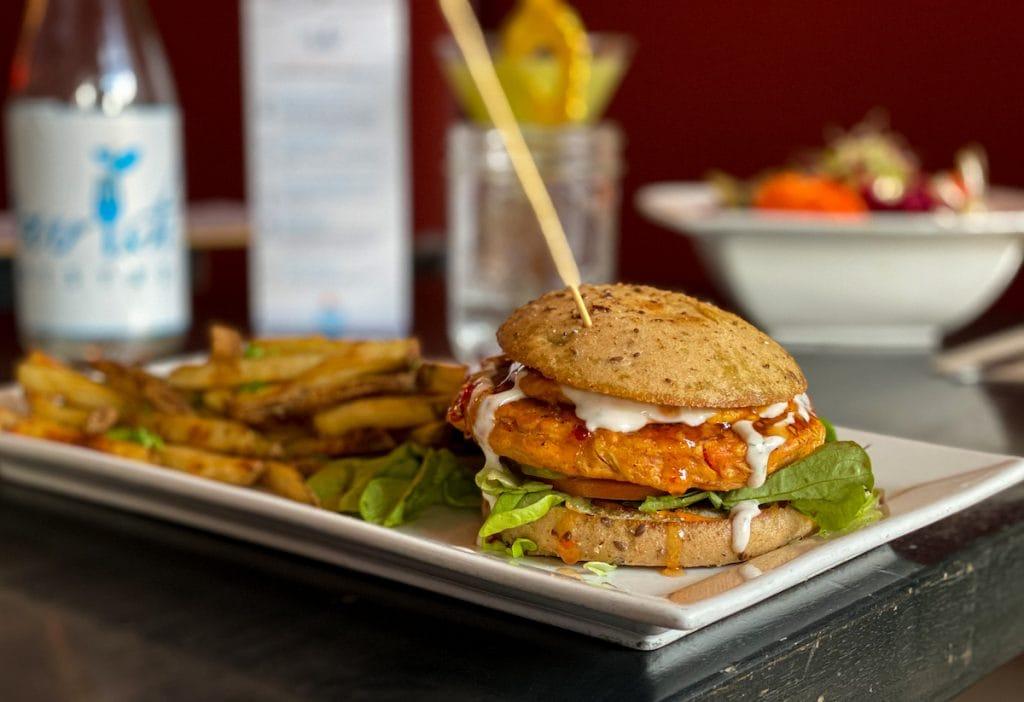 Banff Restaurant Nourish Bistro Vegan restaurant