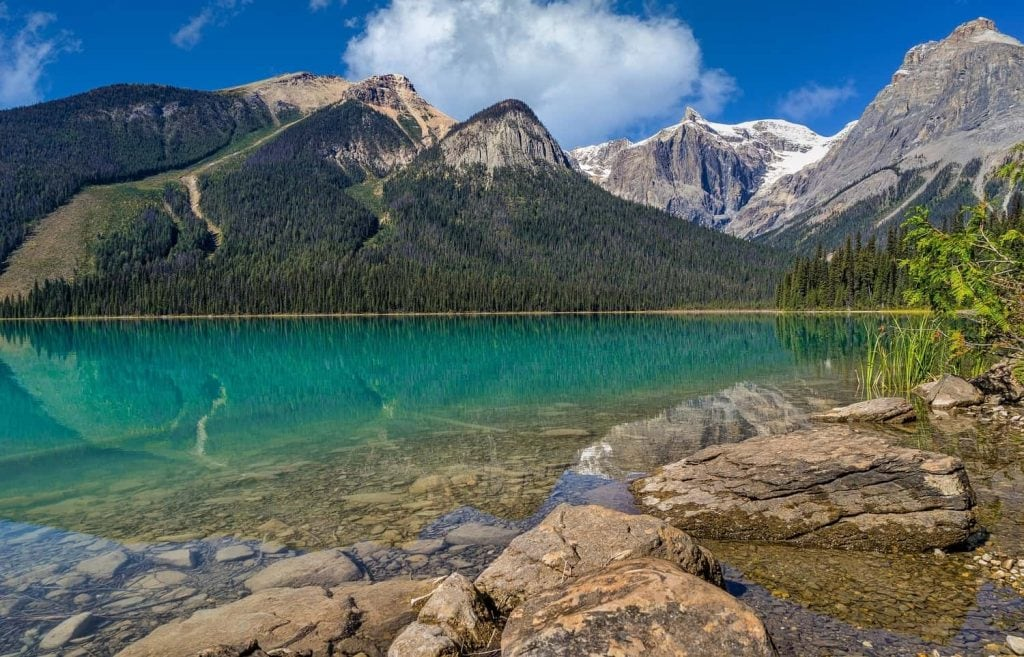 The Canadian Rockies are one of the most popular day trips from Calgary.
