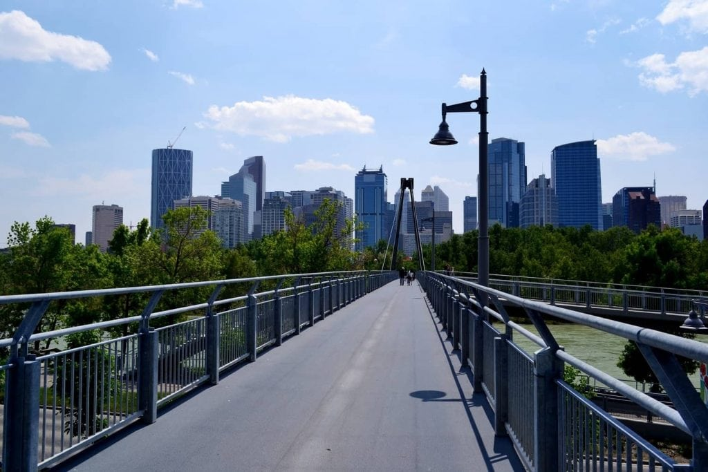 bridge in Calgary