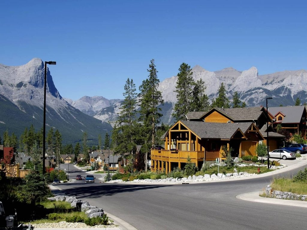 day trip to Canmore