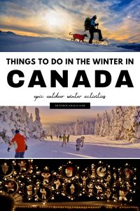 Things to Do in the Winter in Canada