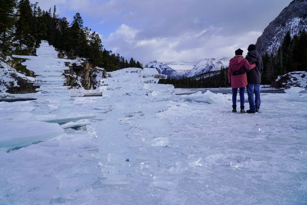 Banff in the Winter - Bow Falls - Must Do Canada