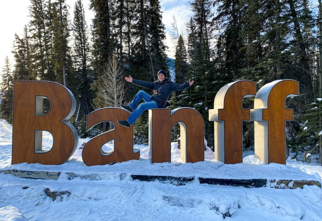Banff in the Winter - Matthew Bailey of Must Do Canada