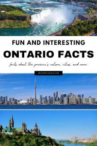 Ontario Facts on Pinterest
