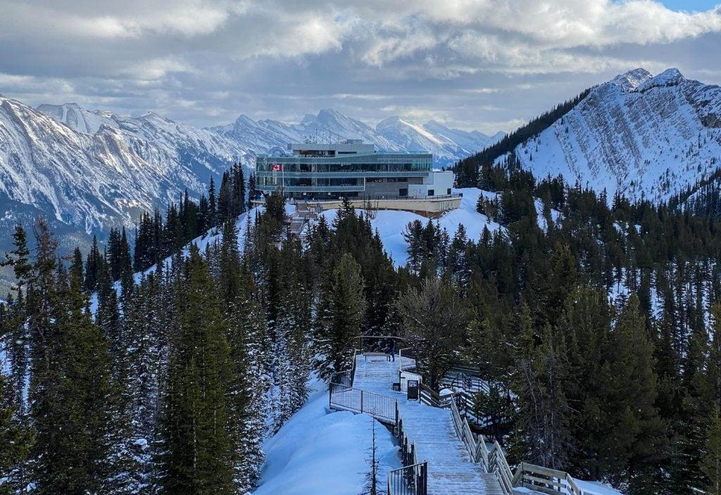 Banff Gondola - Banff Winter Attractions - Must Do Canada