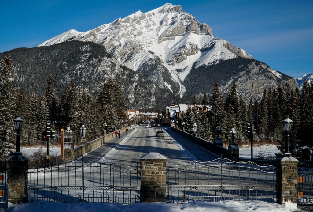 Banff in the Winter - Banff Avenue - Must Do Canada