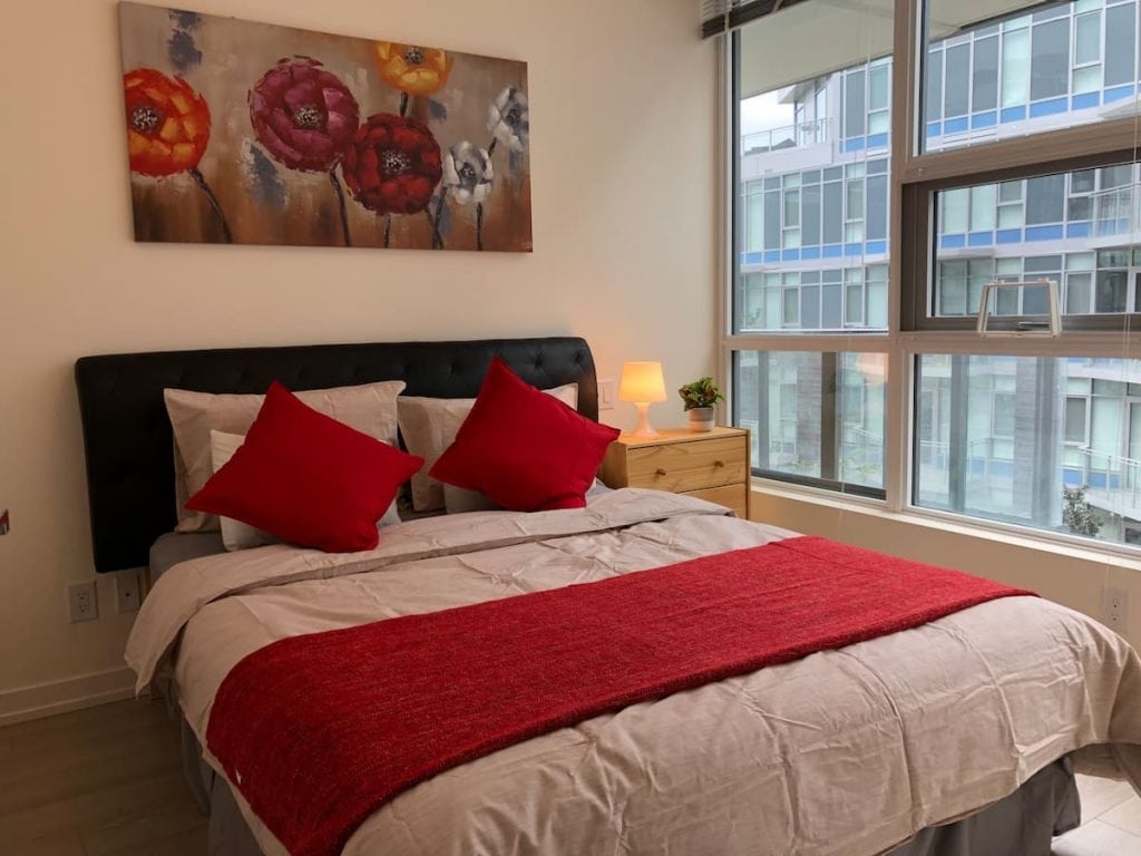 Calgary airbnb in downtown Calgary Eau Claire
