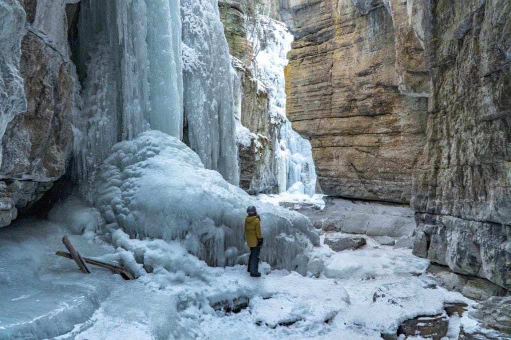 Jasper in the Winter - Maligne Canyon Icewalk