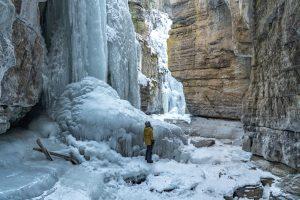 Jasper in the Winter - Maligne Canyon Icewalk