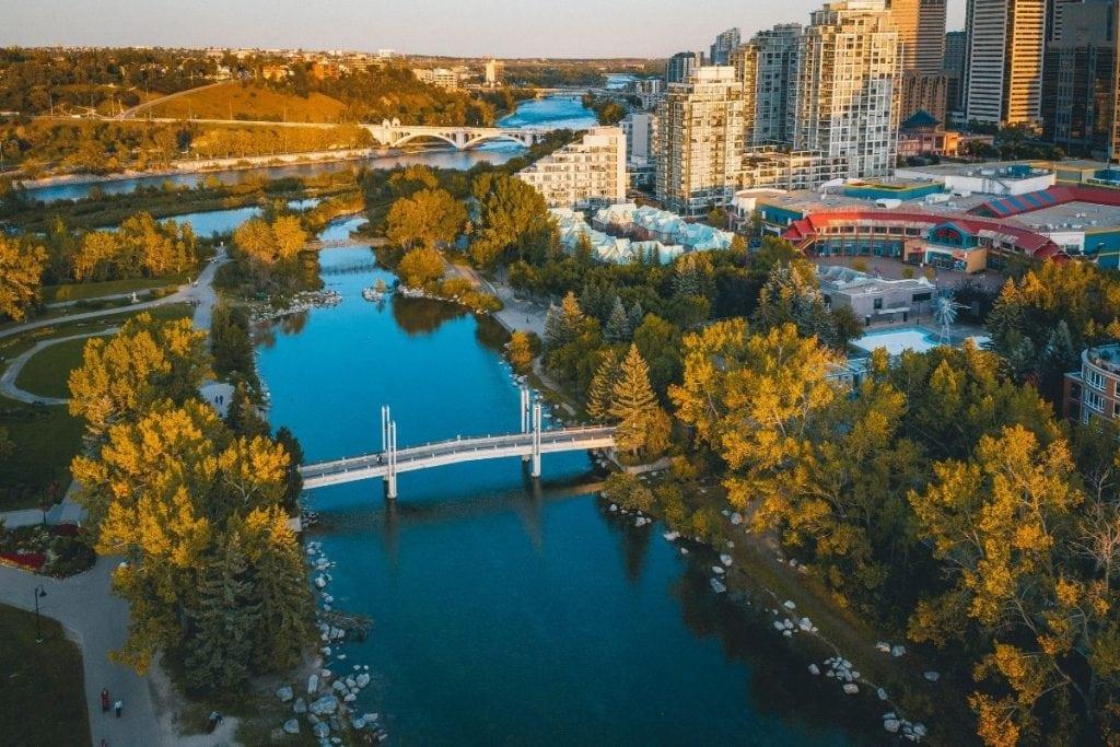 Best Views Of Calgary Eau Claire 1024x683