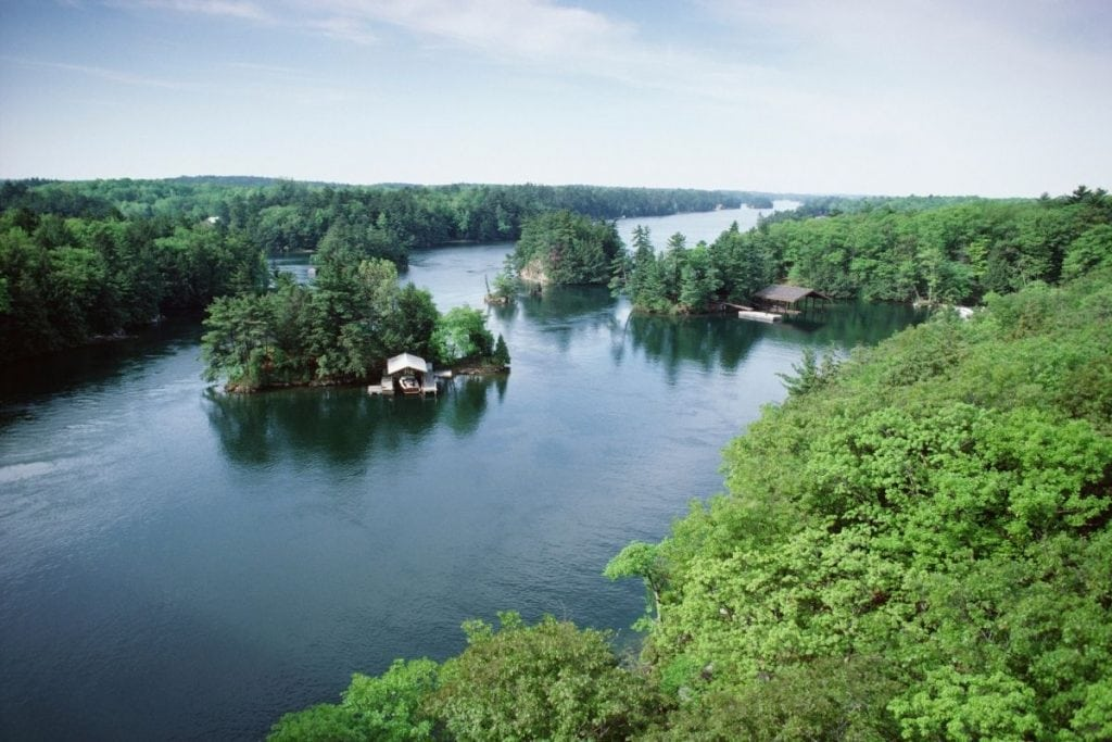 Thousand Islands National Park is a wonderful Ontario Road Trip from Toronto or Ottawa.