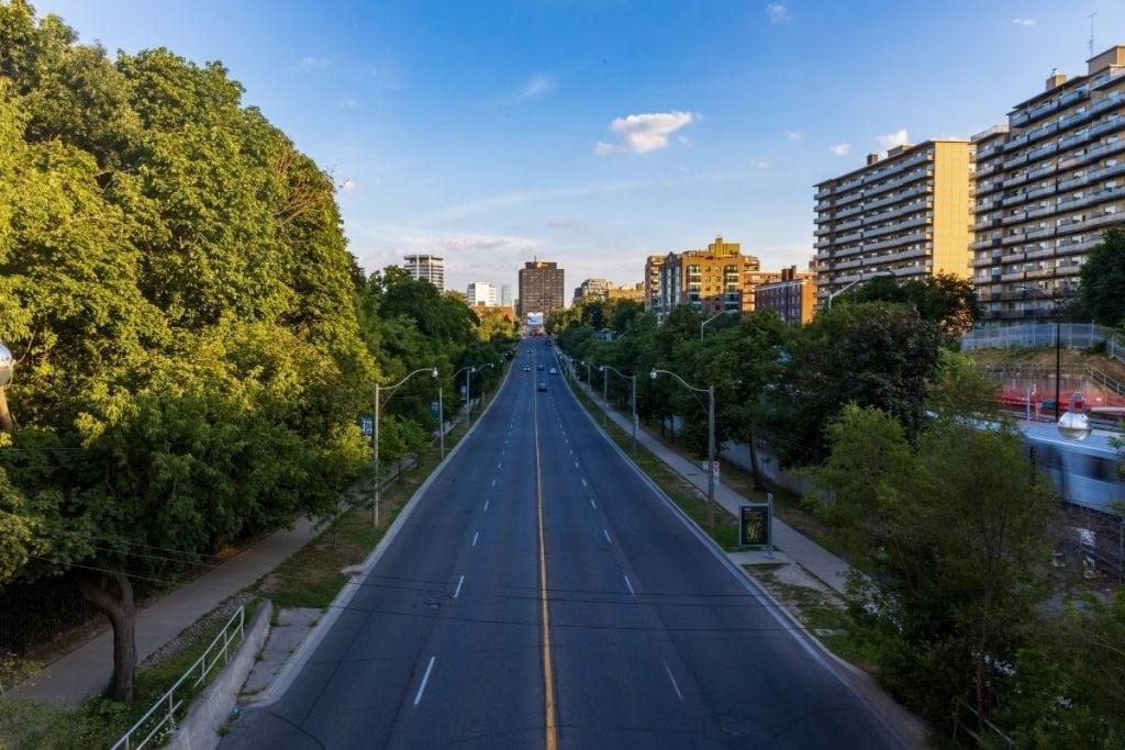 Toronto's Yonge Street is known as the world's longest street.