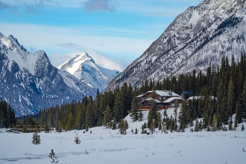 Mount Engadine is a popular choice for romantic getaways in Alberta.